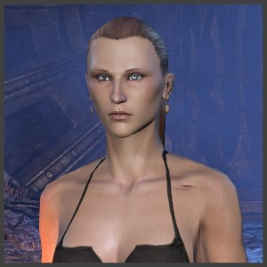 Imperial Female - Body Marking - Shoulder scars